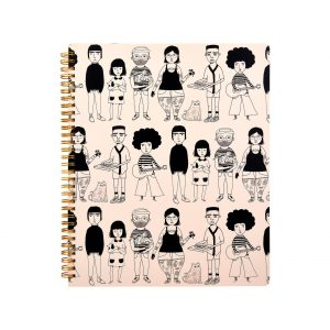 Crazy 70's style notebook stocked in April Road, Co Donegal