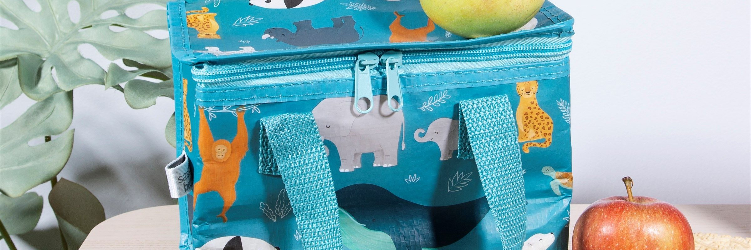 Sea animal print lunch bag available in April Road Gift shop Donegal for kids and babies