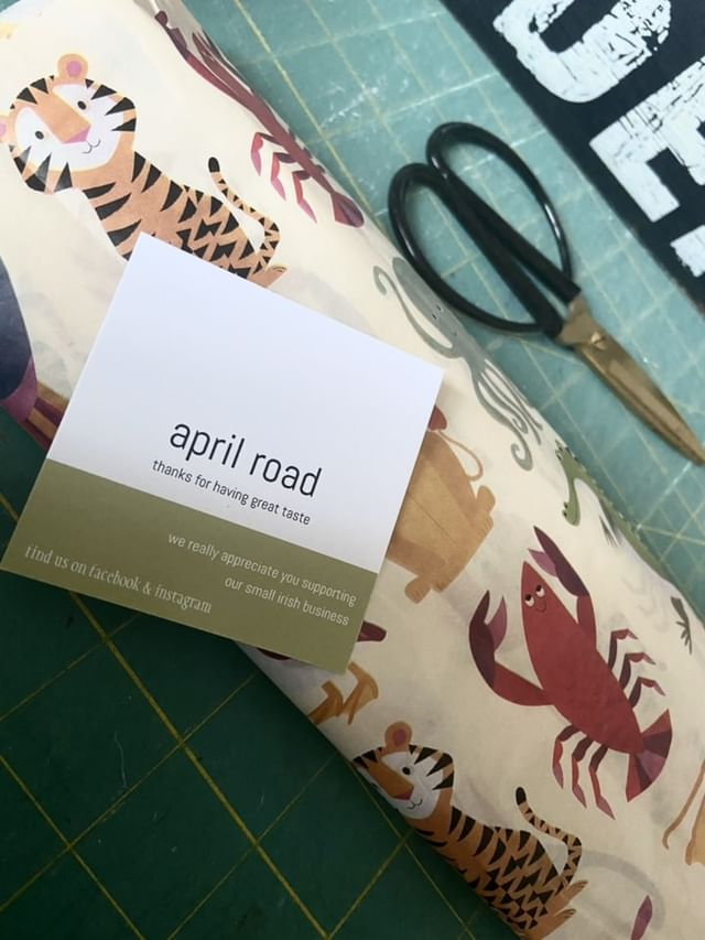 Gift wrapping for any occasion and how I prepare at April Road, Gift Shop Donegal